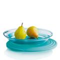 Tupperware Eleganzia 1,5 l flach  Schale zum Servieren von Obst
