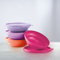 Tupperware Bunte Drops (4) Müsli Schalen mit Deckel