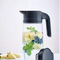 Tupperware TupperTime Kanne 1,7 l Aromatisiertes Wasser in einer eleganten durchsichtigen Kanne