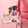 Tupperware TupperTime Kanne 1,7 l Wunderschöne elegante Kanne zum Befüllen mit Beeren für aromatisiertes Wasser