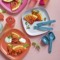 Tupperware Besteck & Go Wiedervewendbares Picknickbesteck mit Etui
