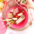 Tupperware Aloha Servier-Doppel Servierteller in frischer Farbe fürs Picknick