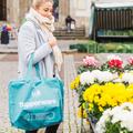 Tupperware Einkaufstasche XL Tasche für den Einkauf mit Reißverschluss