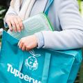 Tupperware Einkaufstasche XL Einkaufstasche mit Reißverschluss