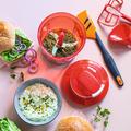 Tupperware SuperSonic® Extra Stromlose Küchenmaschine zum Herstellen von Dips