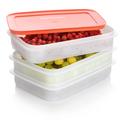 Tupperware Freeze´N Fresh  Stapelbare Gefrierbehälter perfekt zum Einfrieren von Beeren