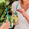 Tupperware Eco+ Straw (2) Nachhaltige wiederverwendbare Trinkhalme