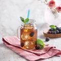 Tupperware Clear Collection Karaffe Leckeres Teegetränk mit Minze aus der Cold Brew Kanne