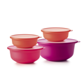 Tupperware Best of Aloha-Set 4 teiliges Salatschüssel Set