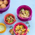 Tupperware Best of Aloha-Set Farbenfrohe Schüsseln