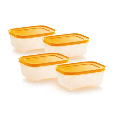 Tupperware Gelbes Eis-Kristall-Set 450 ml (4)