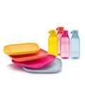 Tupperware Eco-Go-Set (8) komplettes nachhaltiges Picknick Set