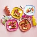 Tupperware Eco-Go-Set (8) praktisches Picknick Set mit Tellern und Flaschen
