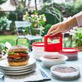 Tupperware Pattie-Matti Burgerfleisch Presse
