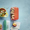 Tupperware Maxi-Twin große Brotdose zum Mitnehmen von Broten oder Obst