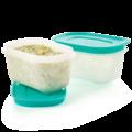 Tupperware Охлаждающий лоток (170 мл), 2 шт. zum Einfrieren von Babynahrung und Saucenreste