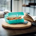 Tupperware Ланч-бокс квадратный «Эко+»  Brotdose zum Mitnehmen von Broten oder Snacks