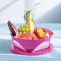 Tupperware Mediterrano 2,5 l Schüssel für Obst mit Fenster