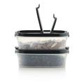 Tupperware Eidgenosse oval 500 ml kleiner Vorratsbehälter zum Verstauen von Samen und Nüssen