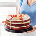 Tupperware Perła Stołowa Pojemnik na tort TWIST