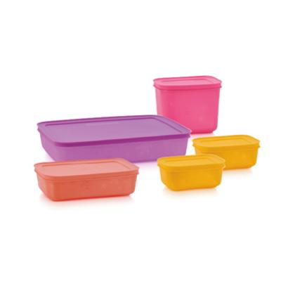 Tupperware Set Boîtes Igloo (2 x 450 ml, 1 l, 1,1 l, 1 l, 2,25 l)