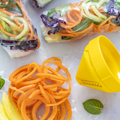 Tupperware Zoodelino Tagliatelle-Einsatz Gemüsetagliatelle