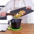 Tupperware D31 Universal Nóż Szefa Kuchni Großes Kochmesser zum schneiden von voluminösem Gemüse und Obst