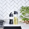 Tupperware Clear Collection Dispenser 570 ml Behälter für Essig und Öl in Glasoptik