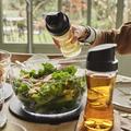 Tupperware Clear Collection Dispenser 570 ml Edele Essig und Öl Behälter in Glasoptik