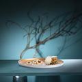 Tupperware Allegra Metallic Servierschale wunderschönerschön elegante servierschale aus metall