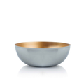 Tupperware Allegra Metallic 5,0 l elegante Schüssel aus Metall zum Servieren von Obst oder Gebäck