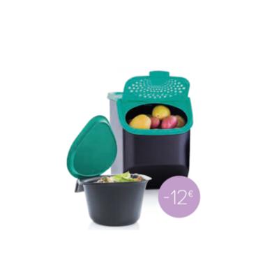 Tupperware Coffre à pommes de terre 5,5 l + Collecteur