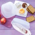Tupperware Brotzeit-Set (2) tolles Set aus Behälter zum Brot lagern und ein Behälter für Wurst und Käse