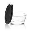 Tupperware Clear Collection 610 ml Durchsichtige Schüssel mit Deckel