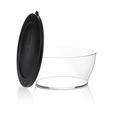 Tupperware Clear Collection 990 ml Schüssel mit Deckel in Glasoptik