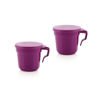 Tupperware 2 Mugs Aloha 350 ml