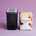 Tupperware Swing-Box 1,6 l hoch (2) Box mit Kippdeckel für Mehl