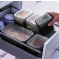 Tupperware Swing-Box-Set mittel (3) Behälter mit Schwing Deckel perfekt für die Vorratshaltung