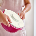 Tupperware Back-Kombination perfekt zum Abgießen von Wasser