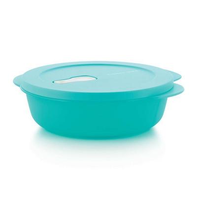 Tupperware Ёмкость «Новая волна» (900 мл) с разделителем, голубая