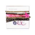 Tupperware Pink Ribbon Armband Brustkrebs Spenden