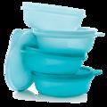 Tupperware Lot de 4 Raviers 300 ml Behälter für den Kühlschrank