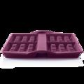 Tupperware Moule à gaufres Silikonform für Waffeln aus dem Backofen